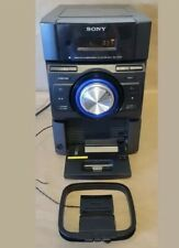 Sony Mhc-Ec709iP Mini HiFi Component Stereo System Cd Player iPod Dock Aux Works