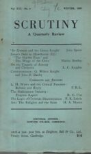 "THE REVIEW ""SCRUTINY"" (Winter 1949) SIR GAWAIN & THE GREEN KNIGHT - HENRY JAMES"