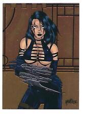 RAZOR trading cards (1995 Krome Productions) Chromium Promo Card  #P6.