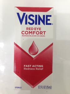 VISINE RED EYE COMFORT (ORIGINAL) EYE DROPS 15ml GET RED OUT FASTPOST  EXP 10/21