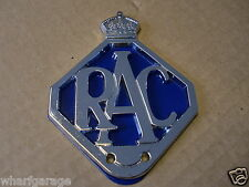 NEW RAC Metal Car Grille Badge / Badge Bar