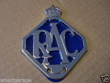 NEW RAC Metal Car Grille Badge / Badge Bar