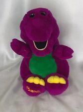 "Vintage Dakin BARNEY the Purple Dinosaur Plush 1992 13"" Tall"