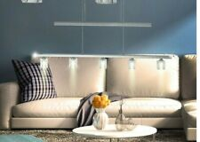 Pendant ceiling lighting glass cube crystal dining room conservatory adjustable