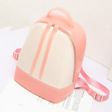 Cute Lady Backpacks Sweet Design Travel Bags Summer Silicone Zipper Preppy Style