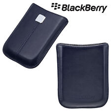 Genuine BlackBerry Storm 9500 9530 Leather Pocket Pouch Case Cover HDW-18972-001