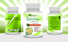 100% Pure Garcinia Cambogia Extract 1600mg Weight Loss 80% HCA Extream SLIMMING