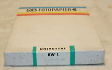 ORWO Fotopapier BW 1 18 x 13 cm 100 Blatt ungeöffnet weich, weiß, glänzen, stark