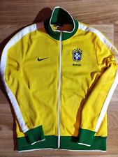 Nike Brasil National Team CBF Tracksuit Top Jacket Football Soccer Sweatshirt