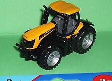 Yellow JCB Fastrac Tractor a matchbox sized 1:64 scale Model toy Mint on Card