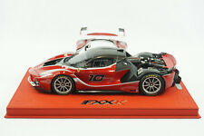 1/18 BBR FERRARI FXXK RED #10 OPEN ENGIVE VERSION RED DELUXE BASE LE 5 PC MR