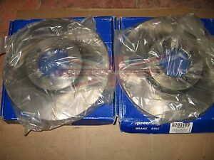 Pair of Brand New Brake Rotors Triumph TR3 With 11 Inch Rotors to car TS56375
