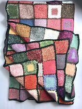 Medium sized Multicoloured Patchwork Blanket