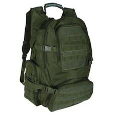3 Day OD Army Green Military Tactical Molle Backpack With US Flag Laptop Pocket