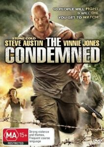 The Condemned DVD New/Sealed Region 4