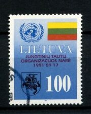 Lithuania 1992 SG#500 Admission To UNO Cto Used  #A26139
