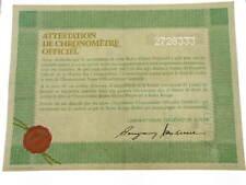 Rolex certificate serial number 2.728.333 genuine garanzia certificato warranty