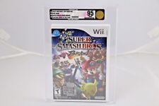 Super Smash Bros. Brawl Nintendo Wii 2008 VGA 95 Uncirculated