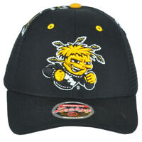 NCAA Zephyr Wichita State Shockers Mesh Adjustable Men Adult Curved Bill Hat Cap