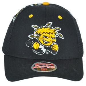 NCAA Zephyr Wichita State Shockers Mesh Adjustable Men Adult Curved Bill Hat Cap