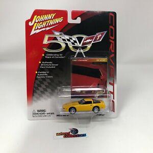 #7024  1991 Corvette * Johnny Lightning 50th Corvette * S12