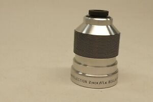 Bell and Howell 16mm 2 Inch f/1.6 Movie Projector Lens