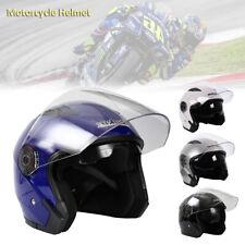 Flip Up Front Modular Open Face Crash Helmet Motorcycle Motorbike Sun Visor Safe