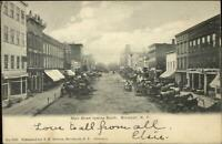 Brockport NY Main St. South c1905 Postcard