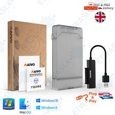"Maiwo K104 USB 3.0 Enclosure 2.5"" External SATA Hard HDD SSD Case Caddy Black"