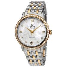 Omega De Ville Prestige Mother Of Pearl Butterfly Dial Ladies Watch 424.25.33.20