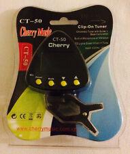 GENIAL 4/4 Digital Clavija Cherry ct-50 NEGRO CON PINZA cromática Guitarra