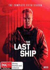 The Last Ship Season 5 : Brand New / Sealed Australian DVD