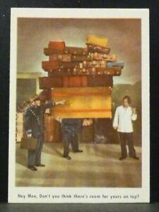 """Fleer Trading Card 1959 THREE STOOGES #6 """"Hey Moe"""" EX-NM Nice Centering"""