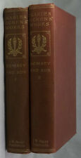 Charles Dickens Works-Dombey and Son Vol 1 & Vol 2 Collectable