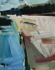 JOSE TRUJILLO - OIL PAINTING ORIGINAL Impressionism River Creek Minimalist COA