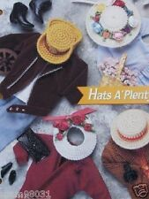Plastic Canvas Fashion Doll Pattern STYLISH HATS a PLENTY