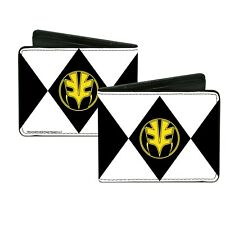 Wallet Mighty Morphin Power Rangers White PRAB