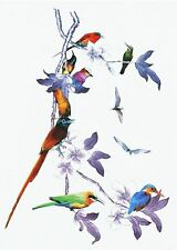 Birds on a Blossom Tree Temporary Tattoos Body  3D Waterproof Tatto UK