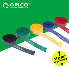ORICO 5PCS Blue Nylon Cable Mark Colorful Ties Label Belting Wire Binging Strap