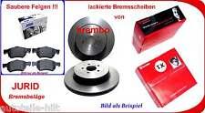 Brembo + Jurid White Keramik Bremsensatz hinten 286mm AUDI TT 8J3 Roadster 8J9