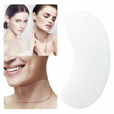 Silicone Neck Care Pad Anti Wrinkle Aging Reusable Skin Care Transparent Pad