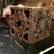 working hellraiser puzzlebox replica pinhead lament configuration gold series
