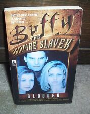 Blooded by Christopher Golden Buffy the Vampire Slayer