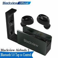 Blackview Airbuds2 Wireless Earbuds TWS Bluetooth 5.0 Noise Canceling Black IPX4