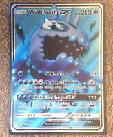 Pokemon Card   WISHIWASH GX  Ultra Rare FULL ART 133/145 GUARDIANS RISING *MINT*
