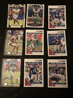 Lot Of 50 New York Giants Football Cards