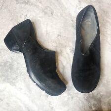 Dansko Womens Clogs Sz 43 12.5 Black Suede Comfort Shoes Nurse Work  9807100200