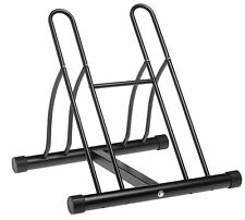 Steel Floor 2 Bike Bicycle Stand Park Garage Storage Organizer Cycling Rack