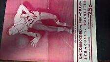 Dec 1955 Knickerbockers V Philadelphia, Syracuse V Rochester, Madison Square Gar