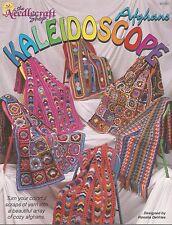Kaleidoscope Afghans Scrap Crochet Instruction Patterns The Needlecraft Shop